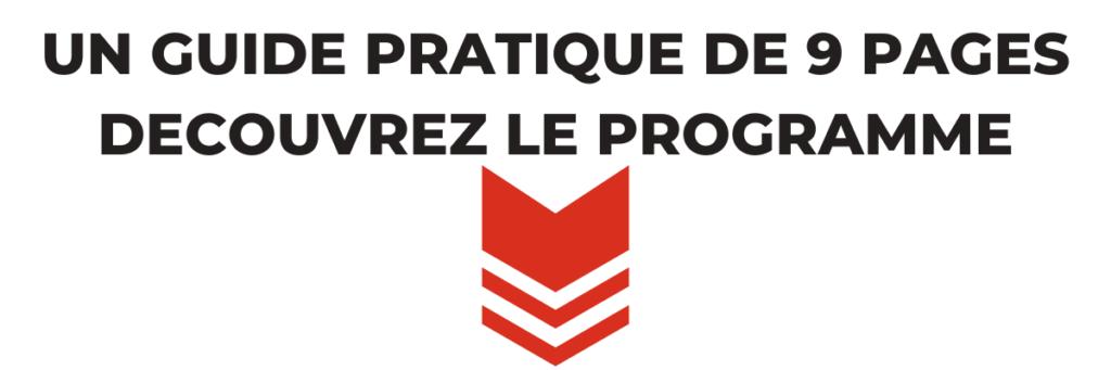 Programme du guide PDF