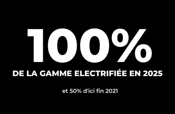 Electrification de la gamme