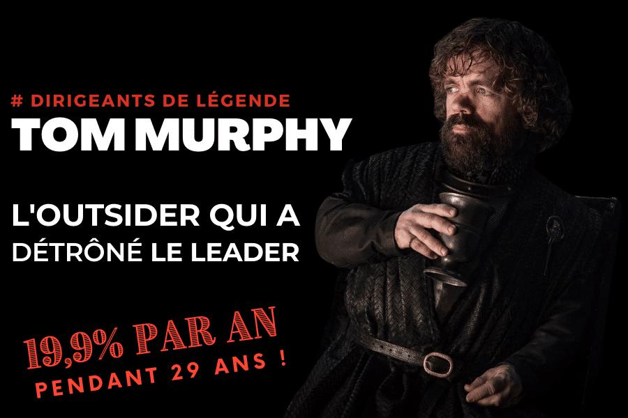 Tom Murphy l'outsider qui a détrôné le leader