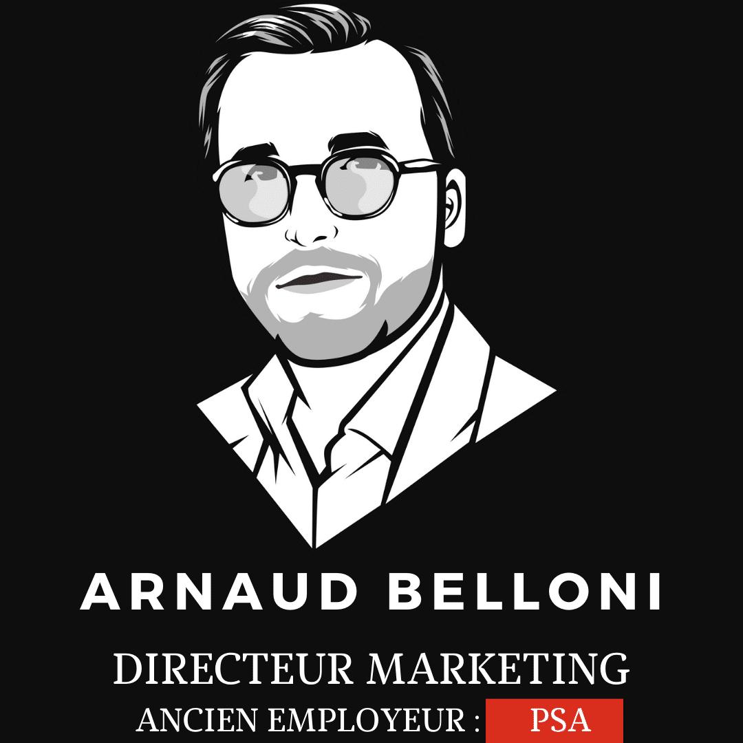 Arnaud Belloni directeur marketing de Renault