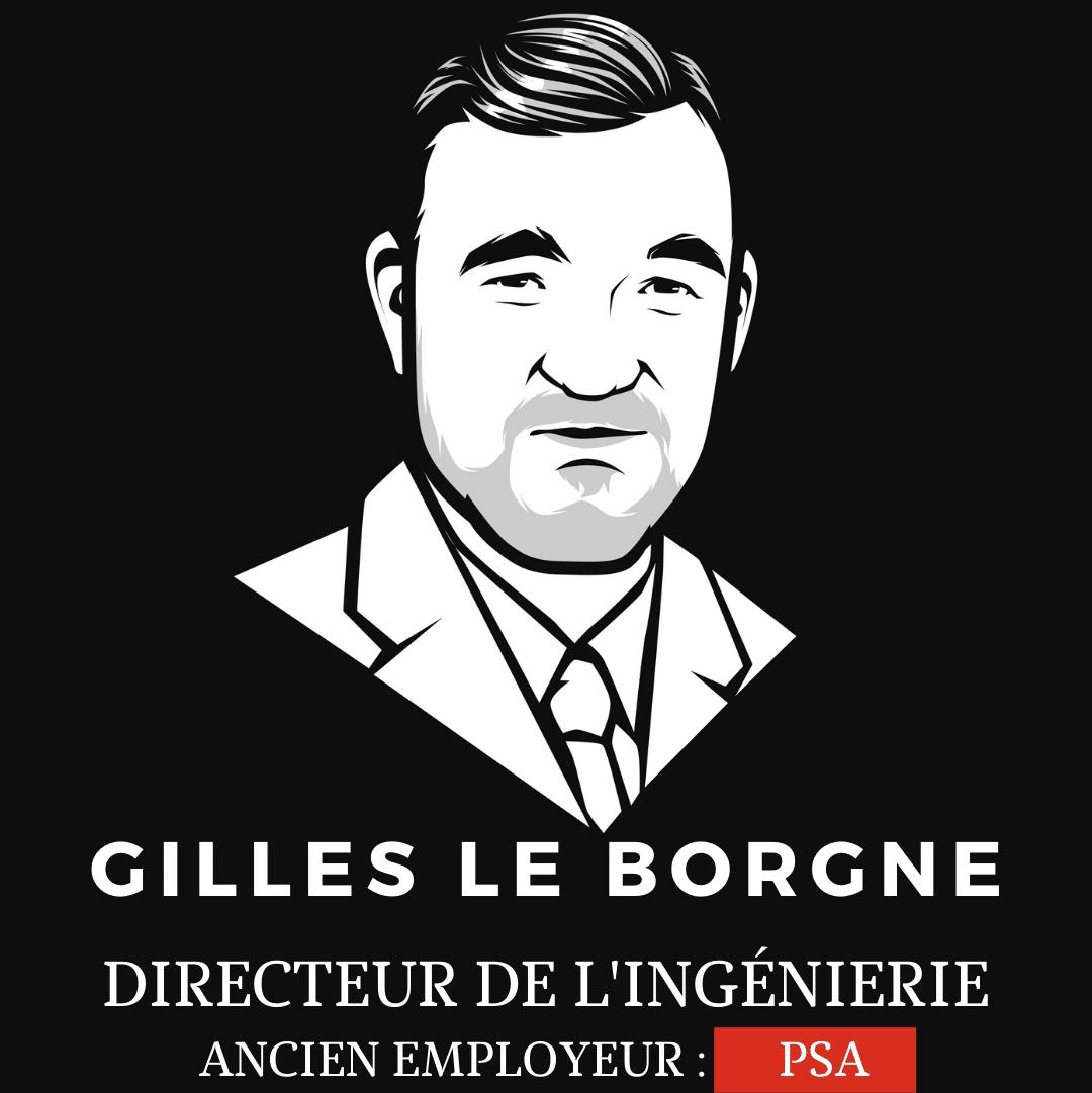 Gilles le borgne directeur de l'ingenierie de Renault