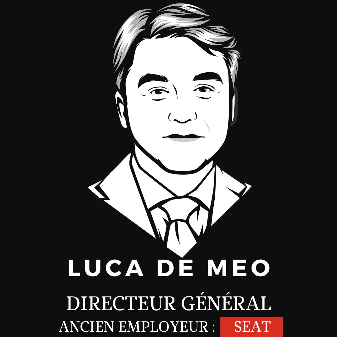 Luca De Meo directeur général de Renault