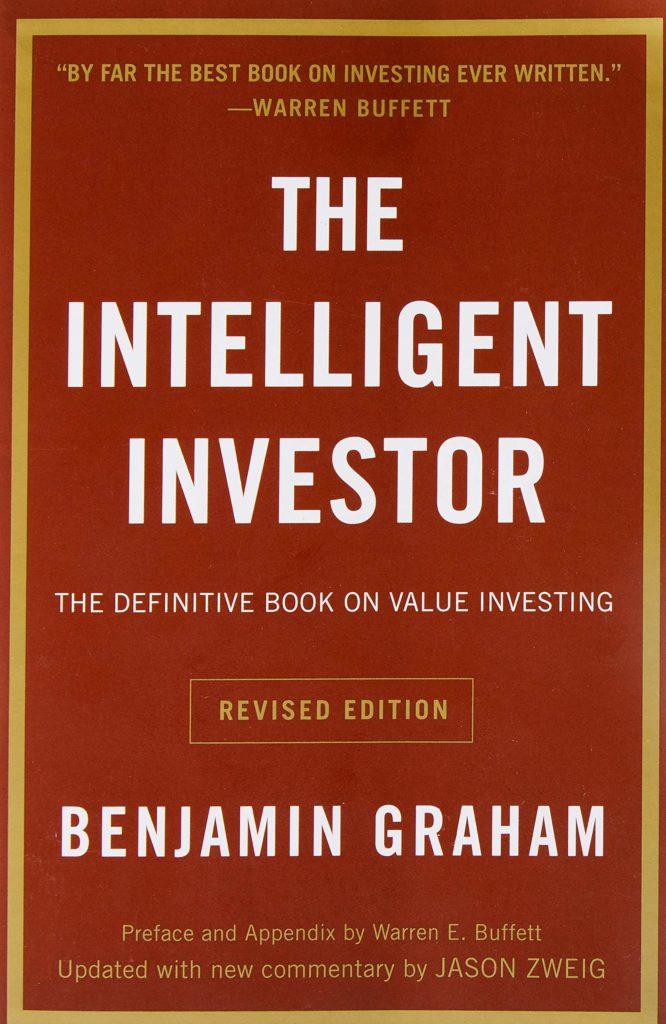 Livre L'investisseur intelligent couverture