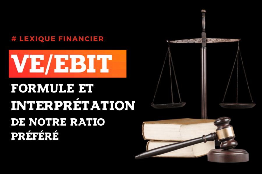 VE/EBIT bourse